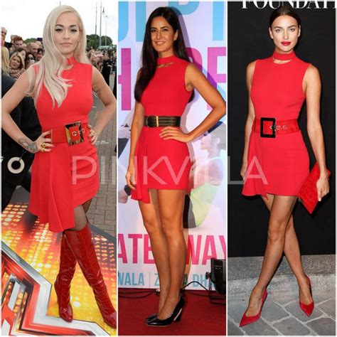 Who Wore Versace On The Cover Better by Who Wore Versace Best Ora Kaif Or Irina
