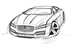 jaguar car drawing www pixshark com images galleries