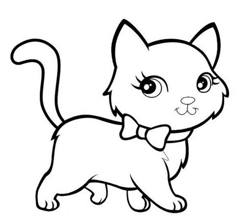 large print coloring book of kittens and cats a simple and easy kittens and cats coloring book for adults for stress relief and relaxation easy coloring books for adults volume 6 books cat coloring pages barriee
