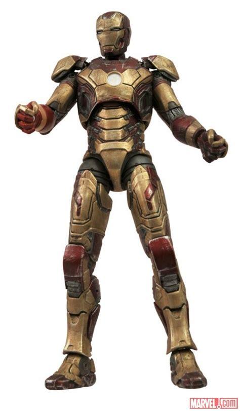 Marvel Select Iron 42 Battle Damaged select reveals marvel select iron 3 quot battle damaged quot 42 and iron patriot 171 pop
