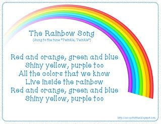 colors of the rainbow lyrics ec activities the rainbow song