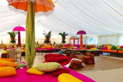 Beach Themed Home Decor colourful indian wedding marquee marquee hire enfield