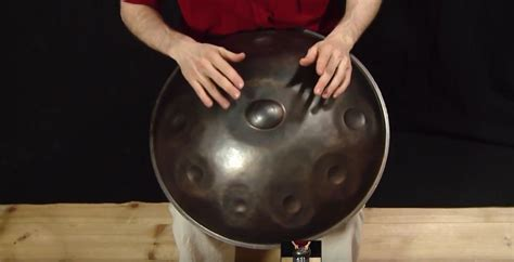 tutorial hang drum handpan tutorial 7 8 variations world percussion by