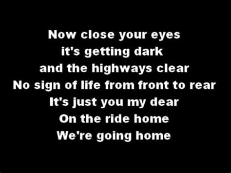 blue october she s my ride home lyrics