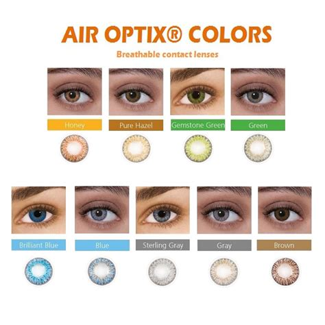 optix colors alcon air optix 174 monthly colors contact lenses ally optical