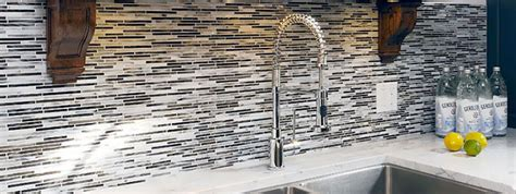 black  white backsplash tile  backsplashcom