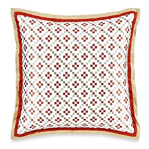 pelham comforter royal heritage home 174 pelham square throw pillow in orange