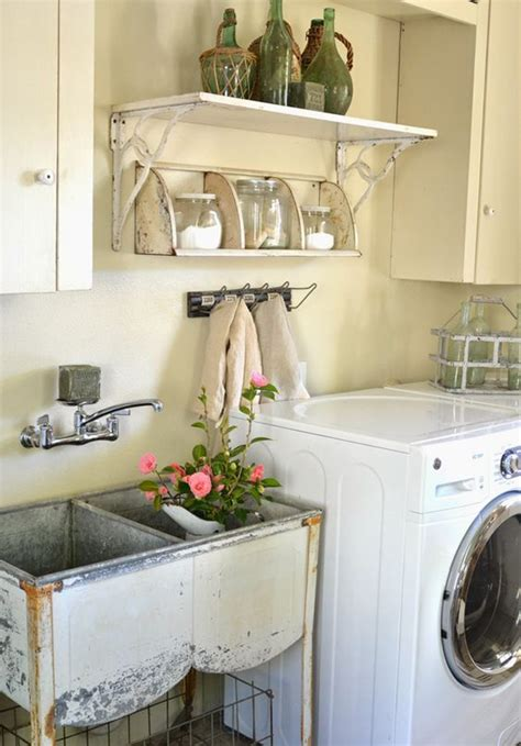 Decorating Laundry Rooms 10 Most Awesome Laundry Room With Rustic Touches Home Design And Interior