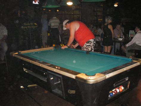 what i did last watched a pool table get taken