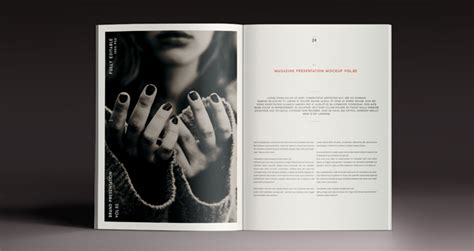 a4 psd magazine mockup view vol2 psd mock up templates