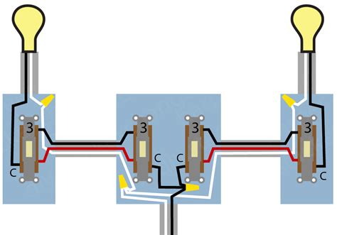 4 way electrical switch wiring diagram 4 wire switch