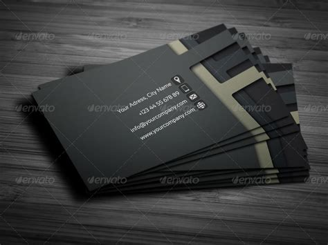 business card 3d template 3d business card template 01 by petumdesign graphicriver