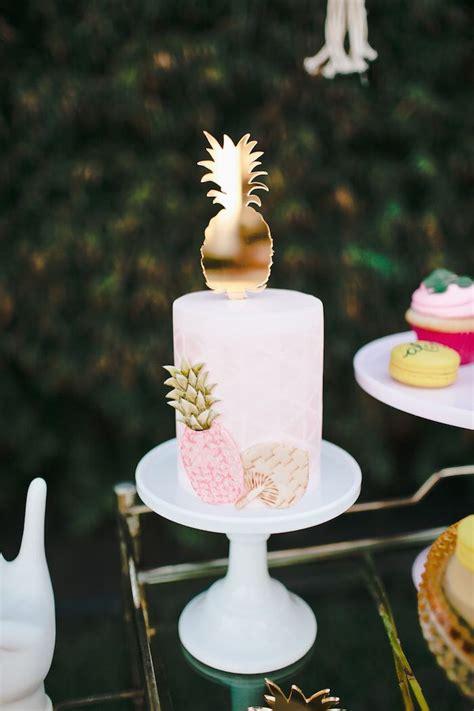 luau wedding cakes sweetly feature aloha luau bridal shower