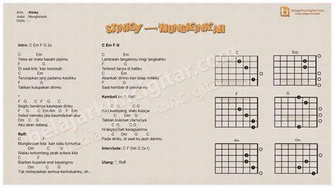Kunci L Buat Gitar lagu lagu yang pernah jadi bahan belajar memainkan gitar