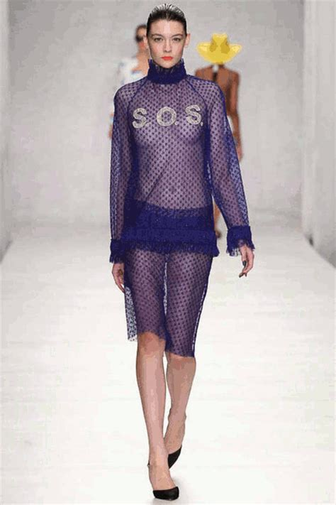 Contention On The Catwalk As Fashion Finds It Conscience by Fashion Week Graphics Gif Find On Giphy