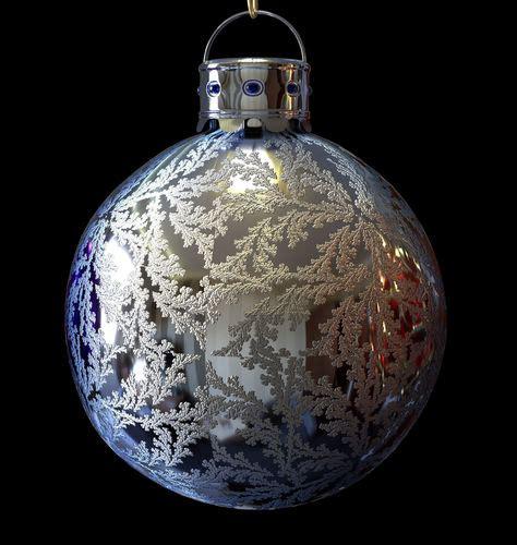 christmas baubles decorations 3d model obj 3ds fbx dxf stl