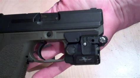 hk usp 40 holster with light holster for h k usp compact with rail with viridian c5l