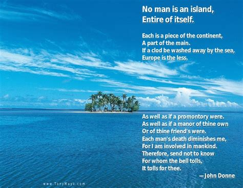 No Is An Island Essay by No Is An Island Essay No Is An Island Merton Books Best Favorite Poetry