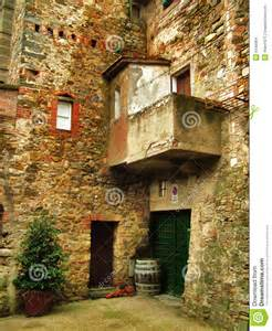 Tuscan House Design Italian Architecture Stock Images Image 6449964