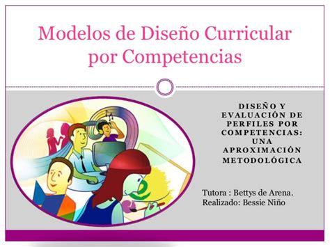 Diseño Curricular Por Competencias Slideshare Dise 241 O Curricular Por Competencias Bessie