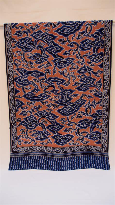 Batik Mega Mendung 2 shawl batik mega mendung on silk 28x74 quot by bu bun of trusmi the language of cloth