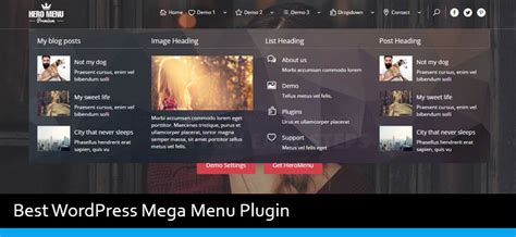 menu layout in wordpress 6 best wordpress mega menu plugins of 2018 modern wp themes