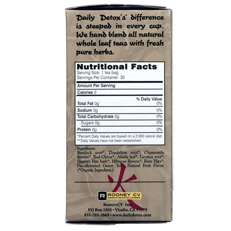 Wellements Daily Detox Tea Reviews by Wellements Daily Detox Ii Herbal Fruit Tea 30