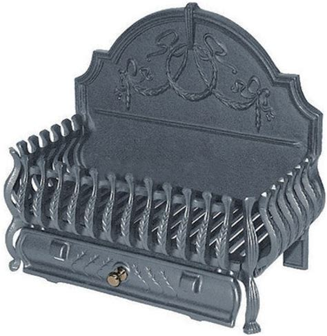 cast iron basket grate fireplace grate