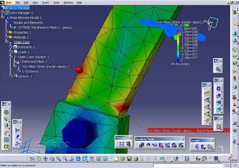 tutorial structure design catia catia video tutorial fem analysis youtube