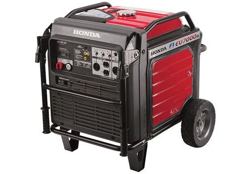 honda eu7000is generator efi makes honda s new eu7000is portable generator more