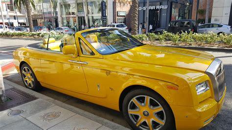 roll royce rollos fotos gratis hollywood veh 237 culo amarillo coche