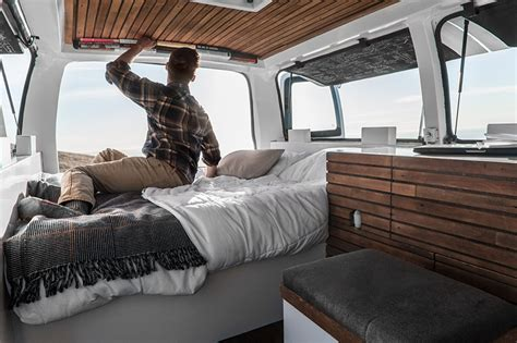 Church Kitchen Design Zach Both Converts A Chevy Cargo Van Into A Nomadic