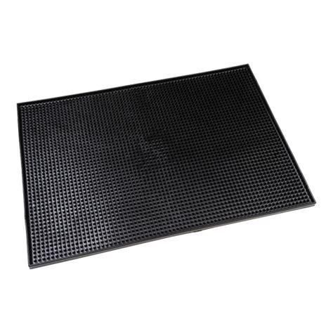 black rubber service counter mat jiggers