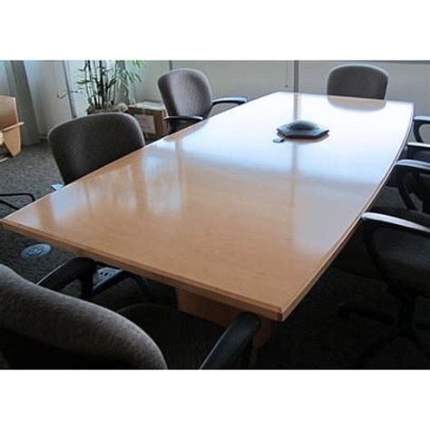 Allsteel Conference Tables Used Conference Tables Allsteel 10 Veneer Conference Room Table Workplace Partners