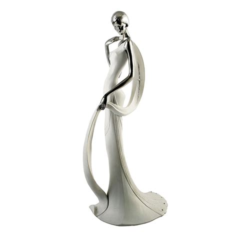 white art deco la vie classique evening model lady