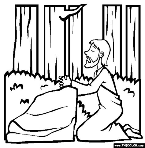 coloring pages for the garden of gethsemane free online coloring pages thecolor