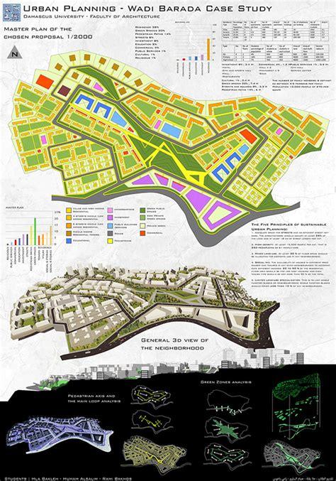 urban design proposal ideas urban planning proposal for wadi barada damascus on