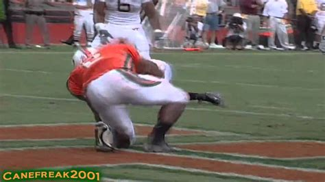 willis mcgahee miami hurricanes   touched youtube