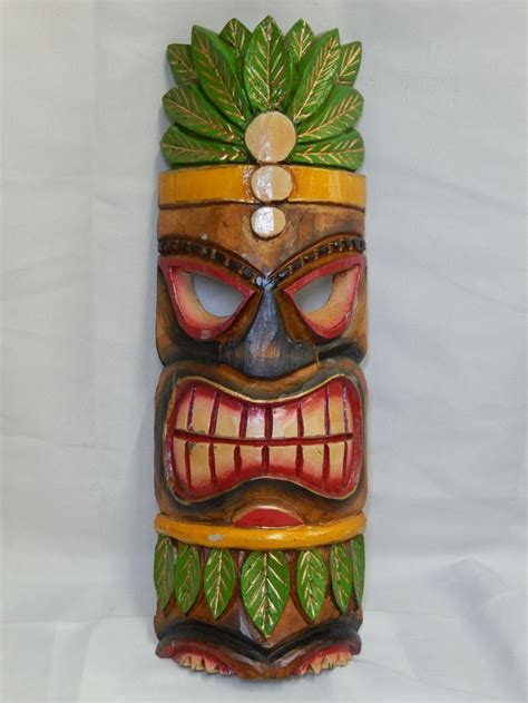 22 best tiki masks images on painted wood
