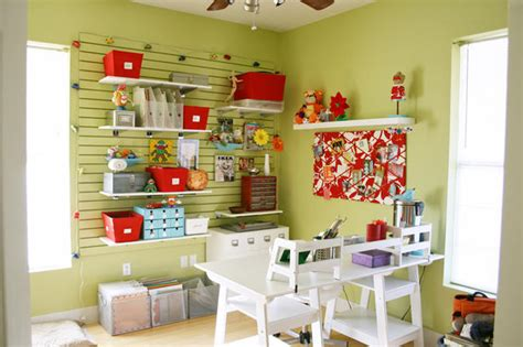 craft room storage made easy ideas moved out try a new coat of paint and a new hobby