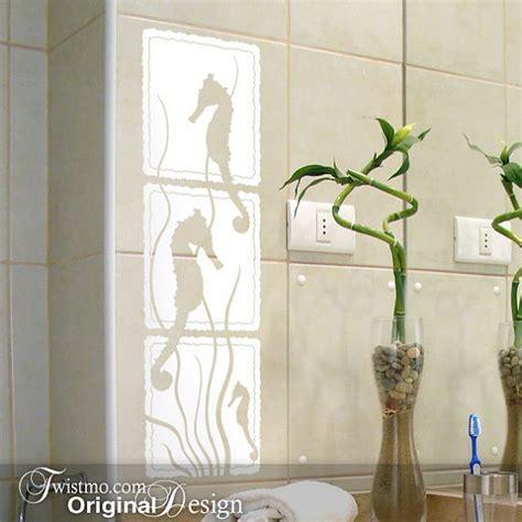 tile stickers for bathroom seahorse bathroom tile decals house bathrooms