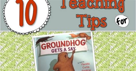 groundhog day genre the picture book s edition groundhog gets a say
