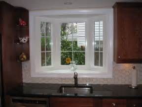 kitchen sink bay window kitchen window