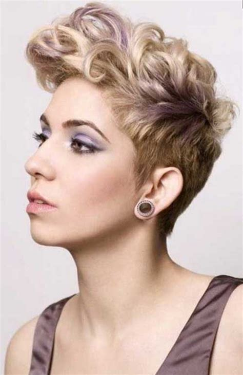 hairstyles for short hair wavy 15 cute curly hairstyles for short hair short