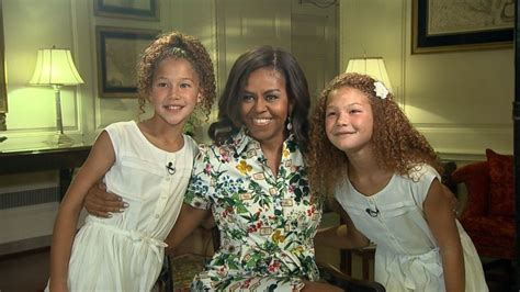 michael strahans daughter sophia strahan michael strahan s twin daughters interview the first lady