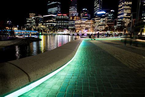 Elizabeth Quay Perth Light Application Architectural Led Lighting Perth