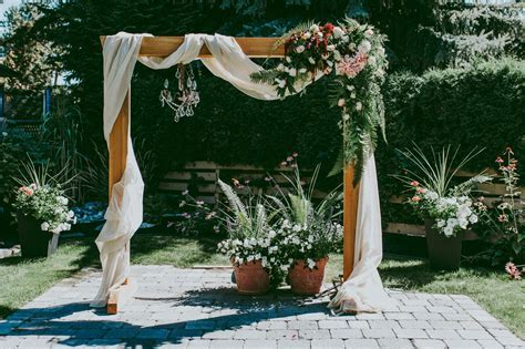 The Best Garden Wedding Arch Decoration Ideas   ForGardening