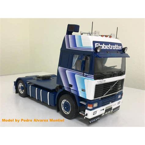 volvo  globetrotter gradient blue volvo kit max model