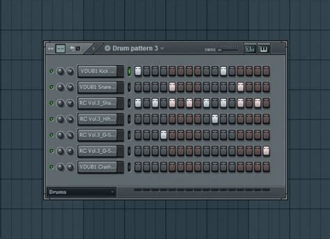 drum pattern player bass idea for drum and bass