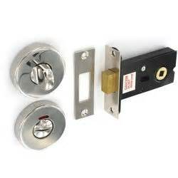 polished s s bathroom door thumb turn lock deadbolt